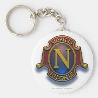 Nautilus N Shield by David McCamant Key Chains