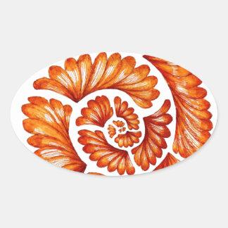 Nautilus Oval Sticker