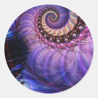 Nautilus Pegatina Redonda