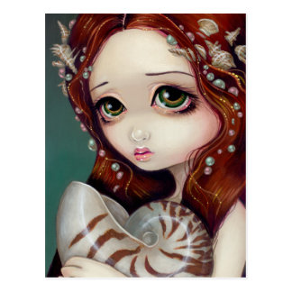 """Nautilus Princess"" Postcard"