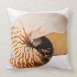 Nautilus seashell (Nautilus stenomphalus) Pillows