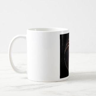 Nautilus Shell on black, Mug