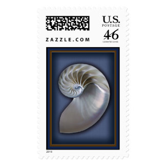 Nautilus Shell Vertical 1 Stamps