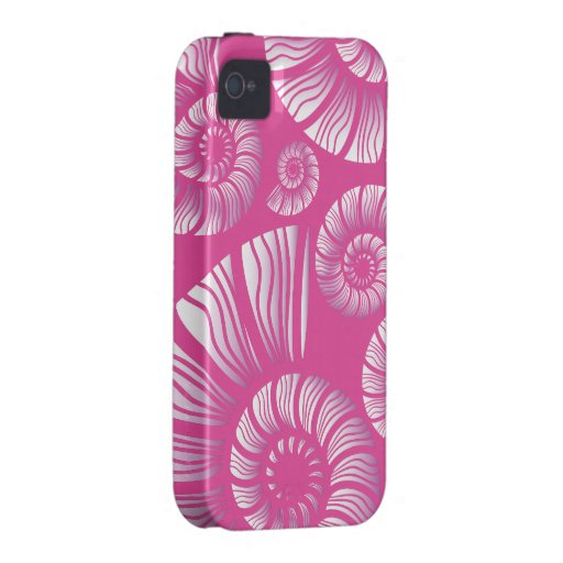 NAUTILUS SHELL VIBE iPhone 4 COVERS