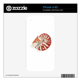 Nautilus Decals For The iPhone 4S