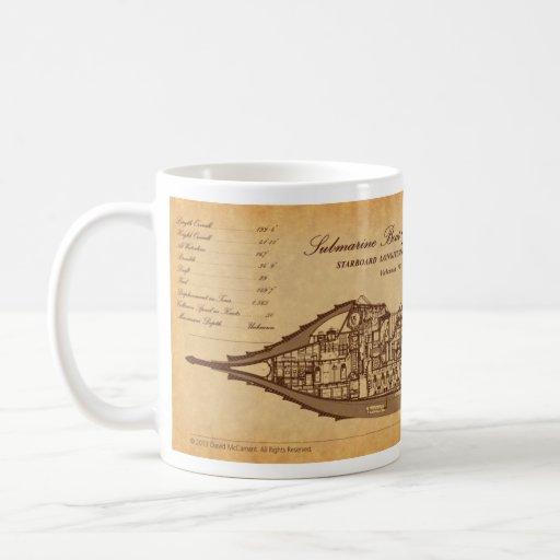 Nautilus SLS on Parchment by David McCamant Classic White Coffee Mug