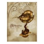 Nautilus starship postcard