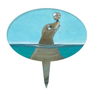 """""""Nautilus"""" The Sea Lion Cake Topper"""