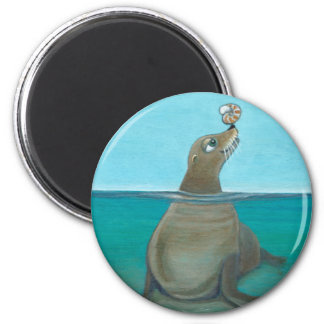 """Nautilus"" The Sea Lion Magnet"