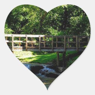 Nauvoo Davids Chamber Heart Sticker