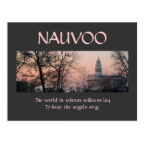 Nauvoo in Solemn Stillness Postcard