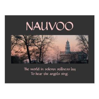 Nauvoo in Solemn Stillness Postcard