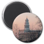 Nauvoo Temple at Twilight 2 Inch Round Magnet