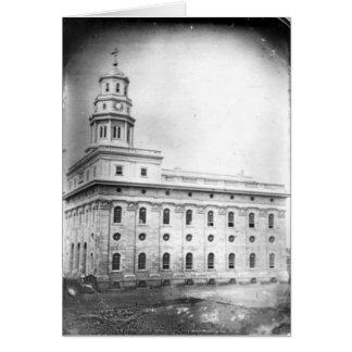 Nauvoo Temple daguerreotype Card