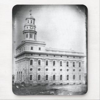 Nauvoo Temple daguerreotype Mouse Pad