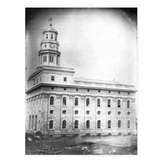 Nauvoo Temple daguerreotype Postcard