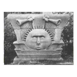 Nauvoo Temple Stonework Postcard