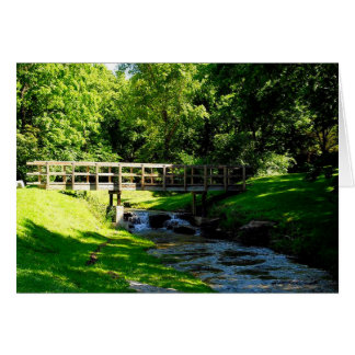 Nauvoo Waterfalls and Tranquility Card