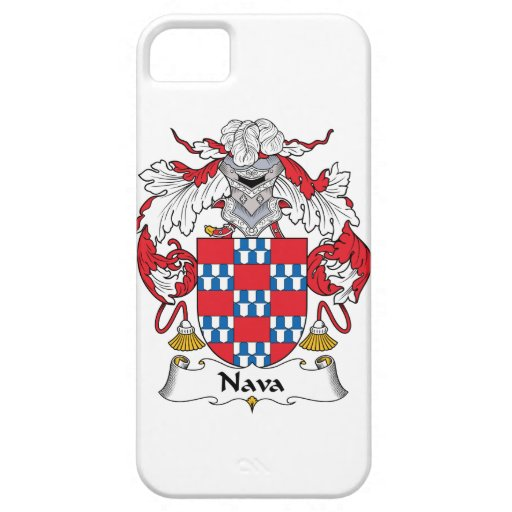 Nava Family Crest iPhone 5 Cover