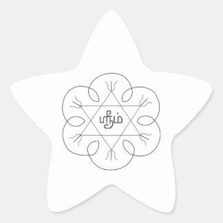 Navagraha-Kolam_Thursday Star Sticker