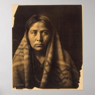 Navaho matron. poster
