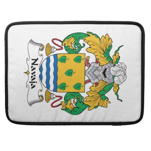 Navaja Family Crest Sleeve For MacBook Pro