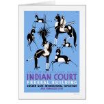 Navajo Antelope Hunt 1939 WPA Card