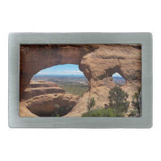 Navajo Arch Arches National Park Utah Belt Buckle