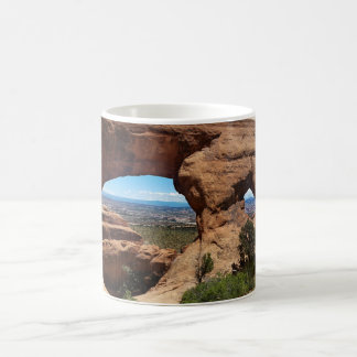 Navajo Arch Arches National Park Utah Coffee Mug