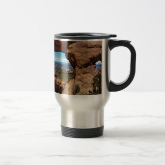 Navajo Arch Arches National Park Utah Travel Mug