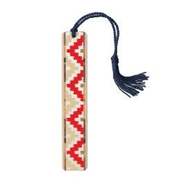 Navajo Aztec Tribal Print Ikat Diamond Pattern Bookmark