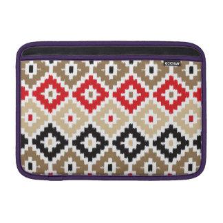 Navajo Aztec Tribal Print Ikat Diamond Pattern MacBook Air Sleeve