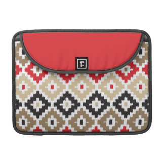 Navajo Aztec Tribal Print Ikat Diamond Pattern Sleeve For MacBook Pro