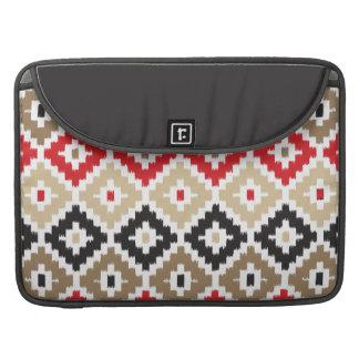 Navajo Aztec Tribal Print Ikat Diamond Pattern Sleeve For MacBooks
