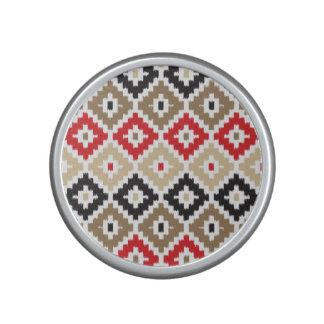 Navajo Aztec Tribal Print Ikat Diamond Pattern Speaker