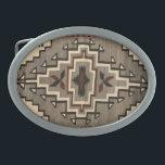 """Navajo Blanket Design Belt Buckle<br><div class=""""desc"""">Navajo Blanket Design Belt Buckle - southwestern designs for your belt buckles</div>"""