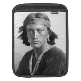 Navajo Boy - Historic Photo by Karl E. Moon iPad Sleeve