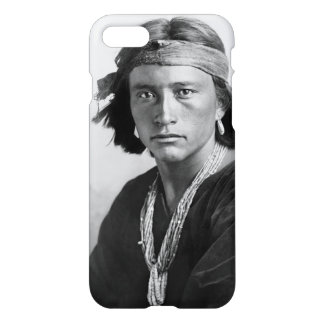 Navajo Boy - Historic Photo by Karl E. Moon iPhone 7 Case