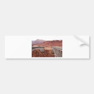 Navajo Bridge over Colorado River, Arizona, USA Car Bumper Sticker