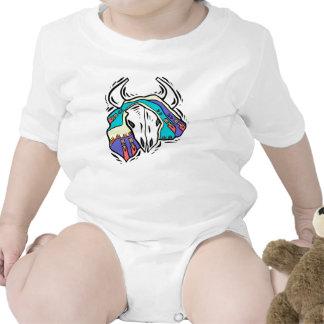 Navajo Cattle Skull Baby Creeper