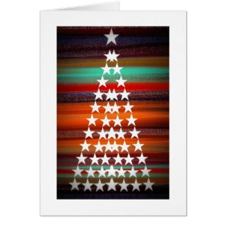 Navajo Christmas Tree Card