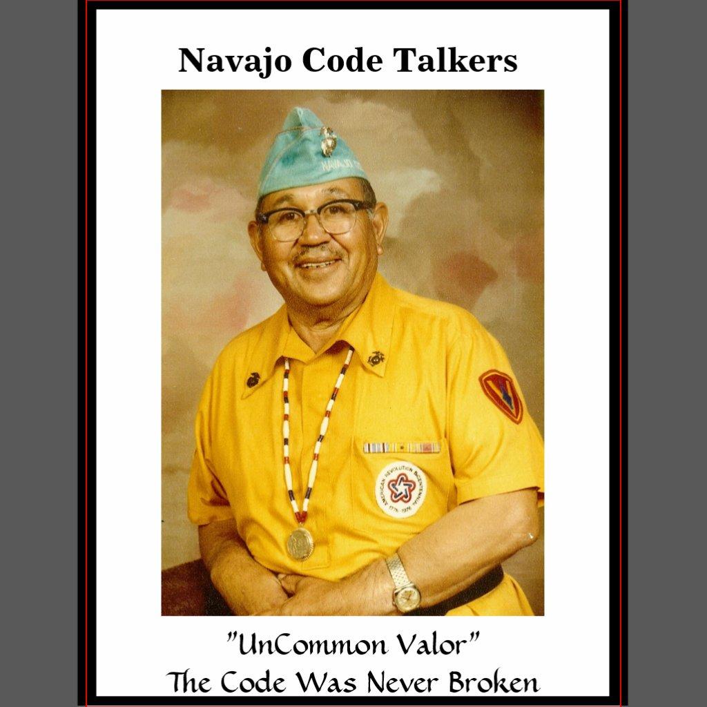 Navajo Code Talkers X 1024 Navajo Codetalker