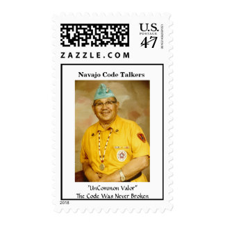 Navajo Code Talkers - Customized Stamp