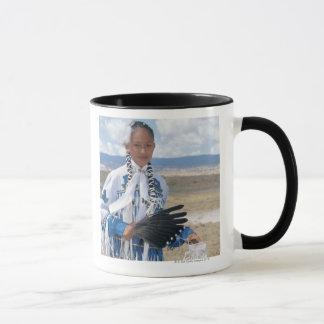 Navajo dancer mug