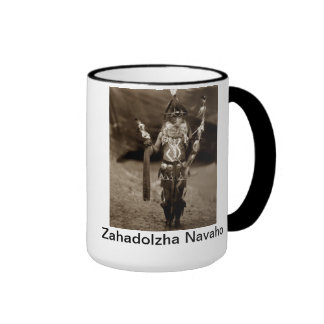 Navajo de Zahadolzha - taza india americana de la
