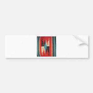 Navajo Designs Car Bumper Sticker