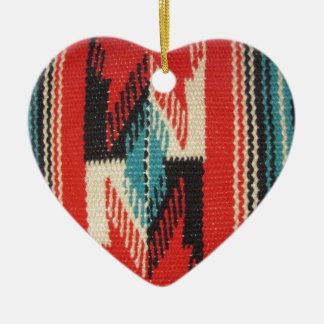 Navajo Designs Ceramic Ornament
