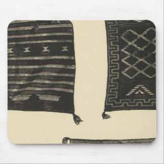 Navajo fabrics mouse pad