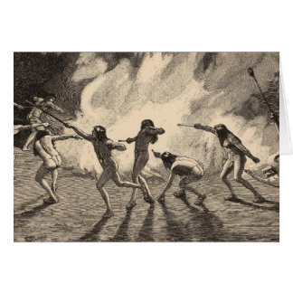 Navajo fire dance cards