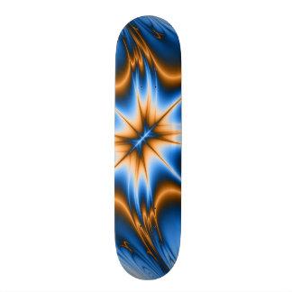 Navajo Fractal Star Skateboard